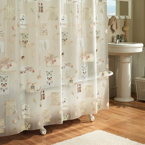 Janey Natures Moments 100% PEVA Shower Curtain by August Grove